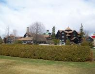 Fairmont Le Chateau Montello is one of the largest log buildings in the world.