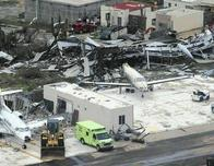 Caribbean airport damaged by Hurricane Irma, Sept 2017 c. OECS