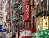 Street Scene in Chinatown, New York, NY