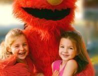 Meet Elmo at Sesame Place
