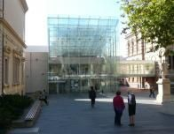 The central Adelaide Library is open to visitors.