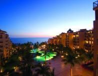 Sunset is the magical time to be at a Riviera Nayarit resort, facing the bay.