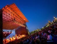 Free outdoor concerts take place all summer long