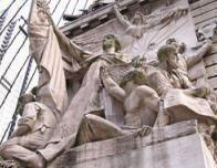Monument Circle Sculpture