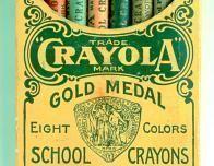 Vintage Crayola Crayon Box