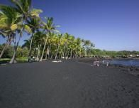 Black Sand Beach on the Big Island