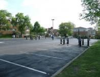 Kent State University Parking Lot - Scene of Kent State Massacre, May 4, 1970