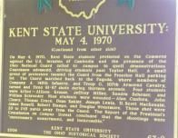 Kent State University Plaque