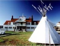 Visit a Lewis and Clark trading post