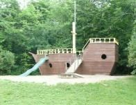 Tyler Place - Pirate Ship Play Area