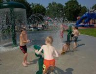 Splash Pad Fun at Tyler Place