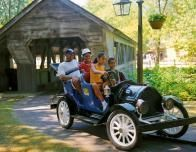 cedar point old time cars