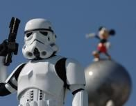 Star Wars characters are found at Disney Hollywood Studios.