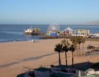Ocean Beach and Santa Monica Pier, Photo: Kristin Beinke