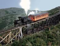 Mt. Washington Cog Railway, White Mountains, New Hampshire