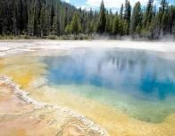 Yellowstone Thermal Lake