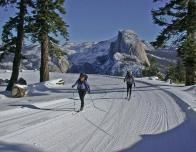 Skiing in Yosemite