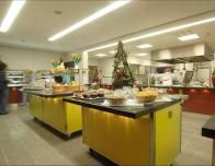 Dining Area at Cologne Deutz Hostel
