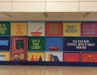 Fun airport signs announce new shops