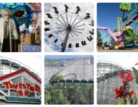Gallery of views of Elitch Gardens theme park, Colorado