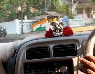 Ganesh guides taxi driver at Devaaya Resort, Goa