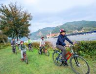 Bike tour on Danube River cruise with Adventures by Disney.