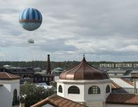 Disney Springs tethered balloon ride photo by David Roark