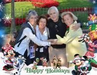 I join my California family: Valerie, Patrick & Aunt Meg to rock our #Disneyside