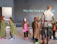 Jedi Training Academy at Disneyland.