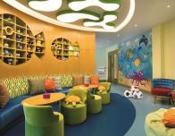 Ritz Kids Club Room at Ritz Carlton Dubai