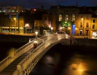 Dublin, Ireland Ha'Penny Bridge