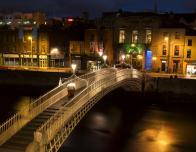 Dublin, Ireland Ha'Penny Bridge