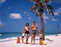 Together on a sunny beach