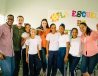 Fathom Cruise, Volunteers and STudents in DR