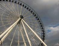 Ferris Wheel in Puebla's public park.