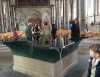 Baptismal Font, Salisbury Cathedral