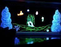 The ImaginOcean Glow in the Dark Puppet Theater