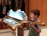 Passenger studies Ship's Model - Freedom of the Seas
