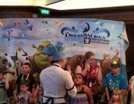 Shrek Character Breakfast on RCI Ships