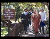 Fountain of Youth Re-Enactors, St. Augustine, Florida