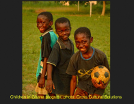 High School Student Katie R. Played Soccer with Boys in Ghana.