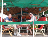 A seafood lunch at a beach shack like Rendevou's is a favorite Goa past time.