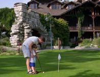 Father and Son Golf at Mohonk Mountain House