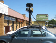 Google Street View in Action, photo by Callum McDonald