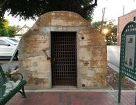 The Calaboose in Grapevine is a historic jail cell.