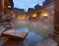 Steamy Great Bath at The Roman Baths