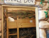 Wolf Den bunk beds at Great Wolf Lodge