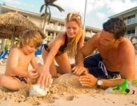 Family Beach Fun at Holiday Inn Sunspree, Jamaica