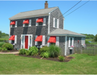This 3-bedroom on Cape Cod is popular for reunions; photo courtesy Homeaway.com