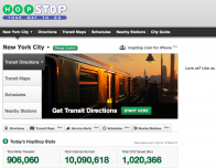 Hopstop.com is one of our favorite apps for finding transit information and route updates.